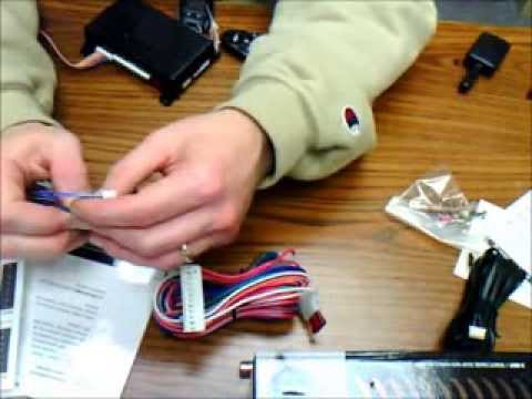Viper Remote Start Wiring Diagram 24v Thermostat Dei Avital / Car Alarm And In Detail - Youtube