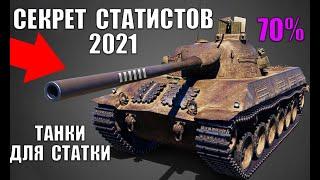 ✅ЭТИ ТАНКИ СДЕЛАЮТ ТЕБЯ СТАТИСТОМ в WoT! ИМБЫ ДЛЯ ПОДНЯТИЯ СТАТИСТИКИ И ПОБЕД в World of Tanks