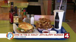 Dine in the D: Krazy Jim's Blimpy Burger