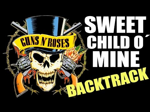 Sweet Child O´ Mine Guitar Backing Track – Guns N´ Roses TCDG