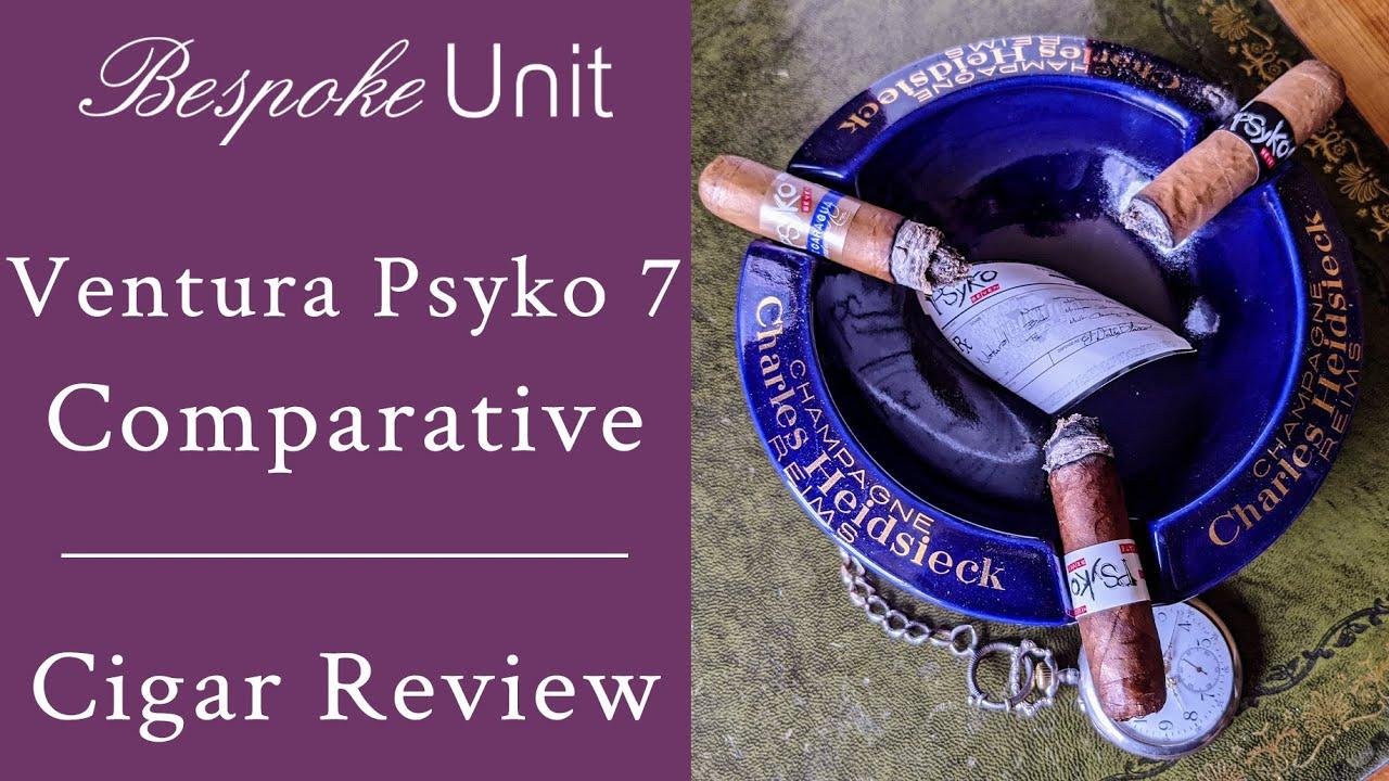 Psyko Seven Natural Vs Connecticut Vs Nicaragua Comparative Cigar Review