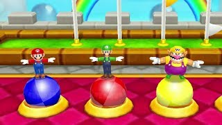 Mario Party: Island Tour Mini Games - Mario Vs Luigi Vs Yoshi Vs Wario (Master CPU)