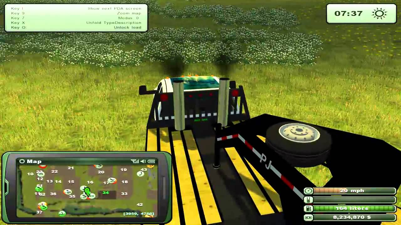 Let s play farming simulator 2013 ep3 pt 1 hauling in south dakota usa youtube