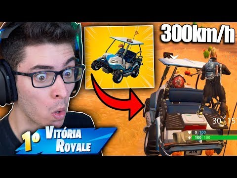 ENCONTREI O NOVO VEICULO DO FORTNITE! É MUITO RÁPIDO! Fortnite: Battle Royale thumbnail