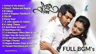 Raja Rani Full BGM Hits | BGM's | Love , Sad , Emotional | Theme Songs | eascinemas