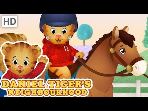 Daniel Tiger 🐇 Animals in the Neighborhood 🦆 Videos for Kids 🐎