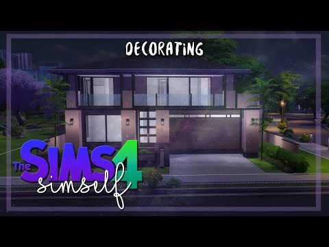 DECORATING MY DREAM HOUSE #1 | THE SIMS 4 | BACKYARD & KITCHEN