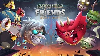 Angry Birds Friends: Legacy of The Beast - Play Iron Maiden Tournaments Now !