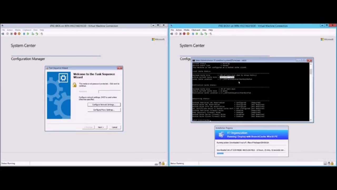 WinPE 10 BranchCache Enabled Deployment - 2Pint Software