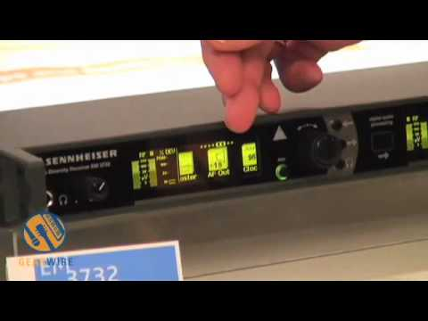 AES : Sennheiser EM 3732 Wireless Mic Receiver
