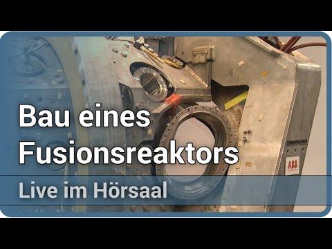 Bau eines Fusionsreaktors • Tokamak Stellarator ITER • Live im Hörsaal | Hartmut Zohm