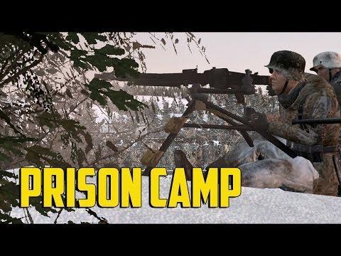 ARMA 2 Invasion 1944 - Prison Camp