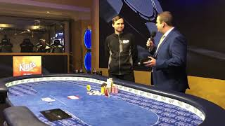 Мартин Кабрхел - победитель турнира по 100К евро на WSOP Europe, +2 600 000 евро