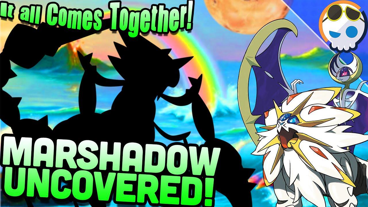 pokemon sun moon what will marshadow be youtube
