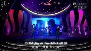 [Vietsub + Kara] 真相 - Chân Tướng - Hứa Đình Khanh & Hồ Hồng Quân (Live)