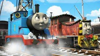 Томас и его друзья РОЖДЕСТВЕНСКАЯ ПОСЫЛКА Детские мультики Мультик про паровозики
