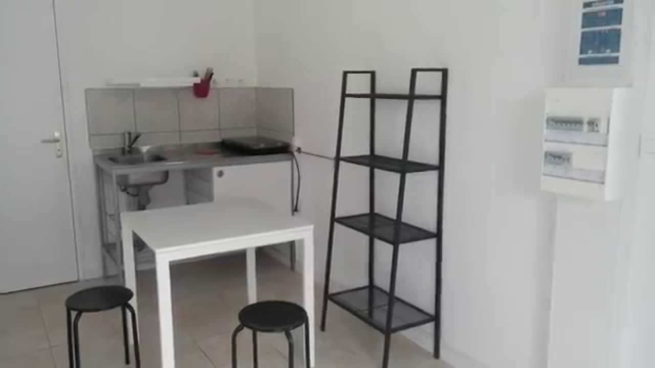 studio meubl adapt pmr louer sur angers youtube. Black Bedroom Furniture Sets. Home Design Ideas