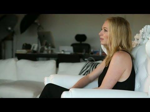 Hollywoodfrun Isabel Adrians vardag i Los Angeles - Nyhetsmorgon (TV4)