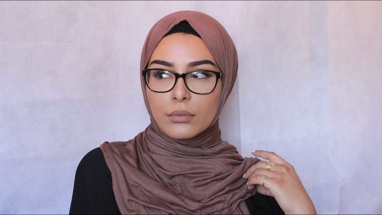 3 Most Worn Hijab Styles With Glasses Demonstration Youtube