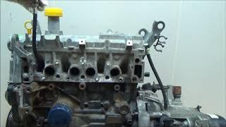 Двигатель Renault для Logan II 2014 после