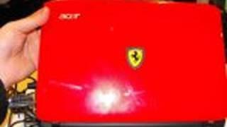 Acer Ferrari One 200 Hands On