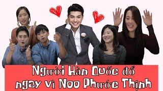 [HQO]Phản ứng của người Hàn Quốc khi xem Noo Phước Thịnh biểu diễn live