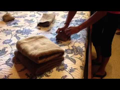 At Your Service Up North Cleaning Towel Folding