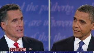 Special Programming - Mitt Romney zingers at first presidential debate