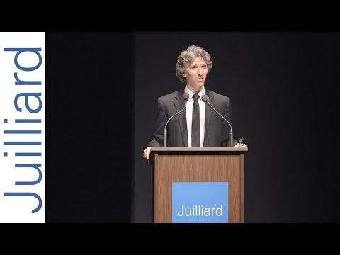 Damian Woetzel Speaks at Juilliard Convocation 2018
