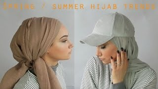 Spring summer Hijab trends