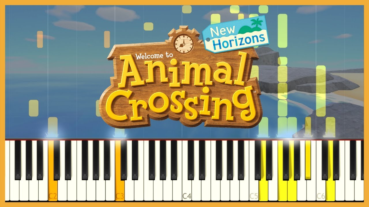 Animal Crossing New Horizons E3 2019 Main Theme Piano Cover