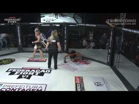 Gabi vs Erica - Federação Fight VI Contagem Edition