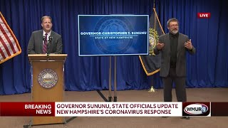 Full video: Governor holds latest COVID-19 briefing for New Hampshire (July 7, 2020)