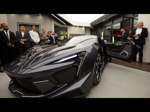 2018 Fenyr Supersport, 780 horsepower ready for launch