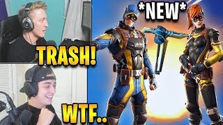 """Streamers React to *NEW* """"Axiom"""" & """"Psion"""" Skins! *RARE* 