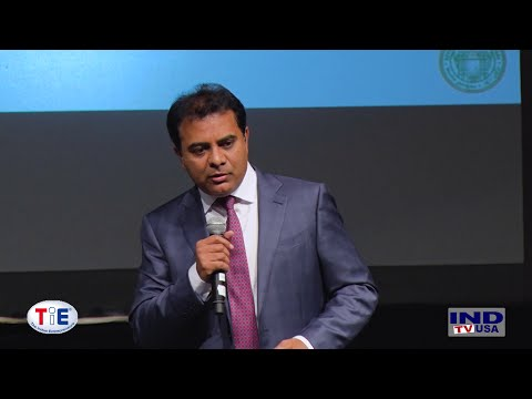 Minister KT Rama Rao's Speech at TiE Event