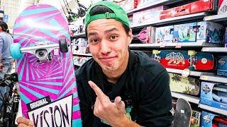 Most EXPENSIVE Walmart Skateboard!!