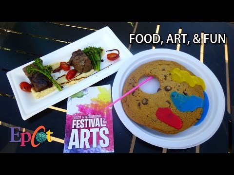 Checking Out Epcot International Festival of the Arts - Food, Art, & Fun!