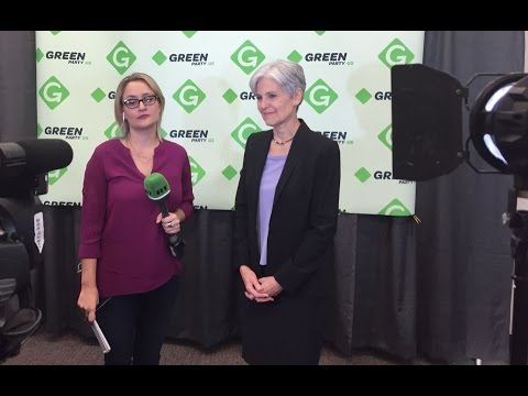 Tabetha Wallace & Jill Stein from the Green Party Convention