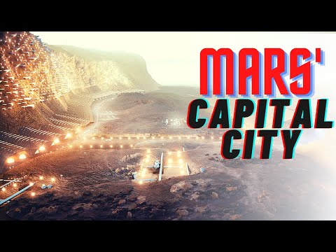 Welcome to Nüwa, the Soon to be Capital City of Mars