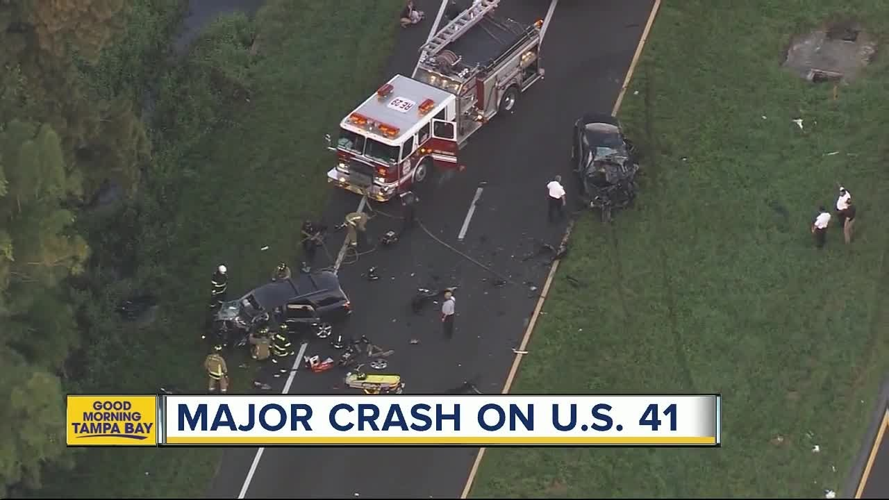 FHP investigating traffic fatality on US 41 near Apollo Beach