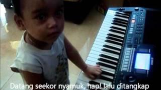 Lagu Anak Cicak Cicak di Dinding by Akio Putra Denwa