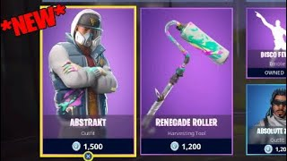 *NEW* Abstract skin + Rolller Pickaxe! Fortnite ITEM SHOP May 13 2018! New Daily featured items!