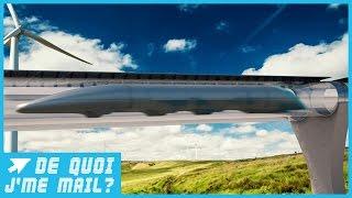 Hyperloop : voyager à 1200 km/h sera bientôt possible !  DQJMM (2/3)