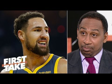 Klay Thompson's deal with the Warriors is already done - Stephen A.   First Take
