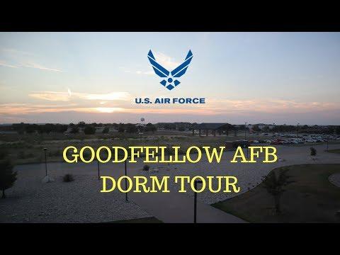 AIR FORCE FIREFIGHTING TECH SCHOOL DORMS| GOODFELLOW AFB