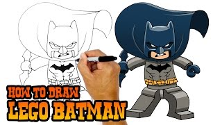 How to Draw Lego Batman | Drawing Lesson