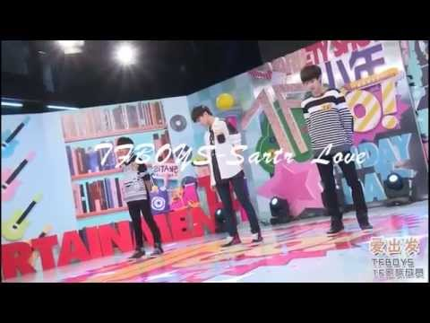 TFBOYS-Satrt love+Heart+Manual Of Youth(Second dance versions)【Live】