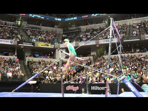 Abigail Walker – Uneven Bars – 2015 P&G Championships – Jr. Women Day 2