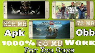 Darkness_Rises,God Of war 4,GTA V Download Highly Compressed In 305 MB In Android|| Hindi || 2018||